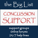 The Big List of Support Resources for Concussion
